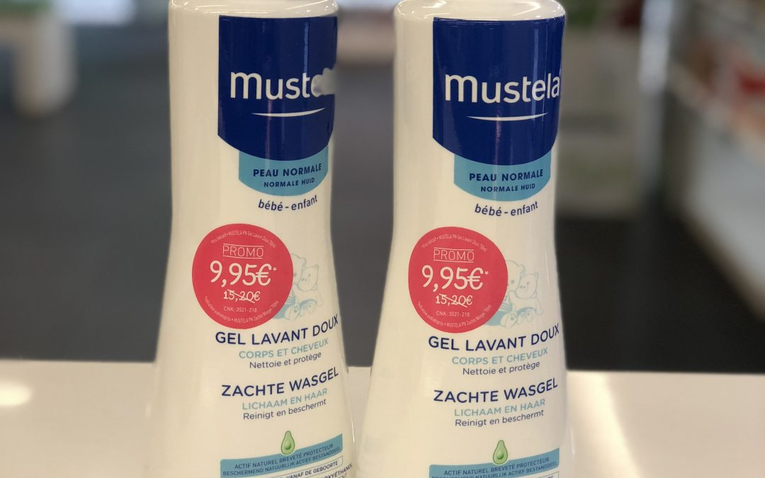 Mustela promo wasgel 750ml